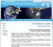 Catalogue des formations spatiales